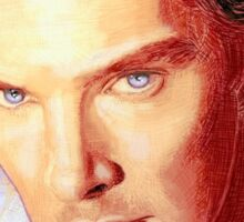 Benedict Cumberbatch Artwork Design 1 Sticker