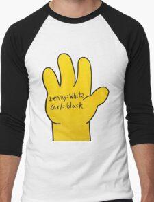 Lenny white Carl black by WRTISTIK Men's Baseball ¾ T-Shirt