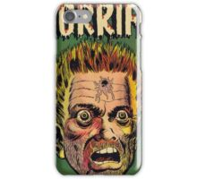Horrific Tales dead soldier cover iPhone Case/Skin