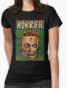Horrific Tales dead soldier cover Womens Fitted T-Shirt