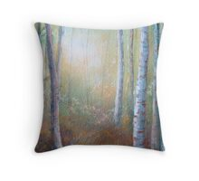 Forest Gloaming Throw Pillow