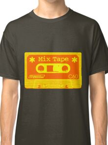 Psychedelic Mix Tape - Orange and Yellow Classic T-Shirt