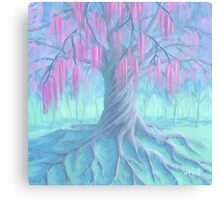 Willow of Love Canvas Print