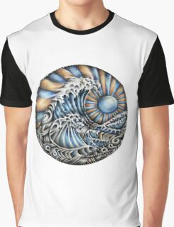 Tirbal Wave Graphic T-Shirt