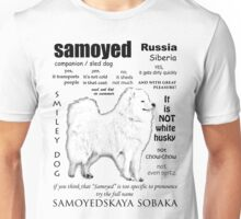 Samoyed. FAQ. Grown Up Unisex T-Shirt