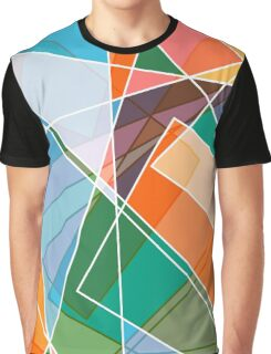 Retro styled abstract Graphic T-Shirt
