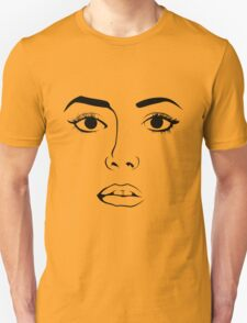 Face OF Woman  T-Shirt