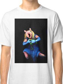 Miss Piggy Devouring Kermit Classic T-Shirt