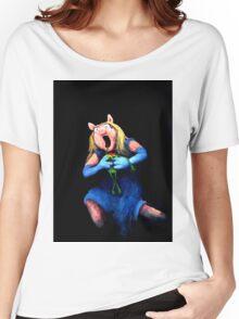 Miss Piggy Devouring Kermit Women's Relaxed Fit T-Shirt