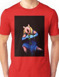 Miss Piggy Devouring Kermit Unisex T-Shirt