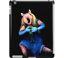 Miss Piggy Devouring Kermit iPad Case/Skin