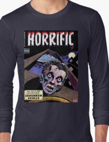 Horrific Tales comic cover Long Sleeve T-Shirt
