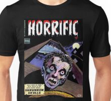 Horrific Tales comic cover Unisex T-Shirt