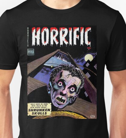 Horrific Tales comic cover Unisex T-Shirt