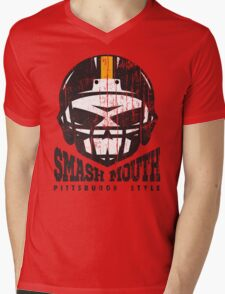 SMASH MOUTH FOOTBALL (vintage) Mens V-Neck T-Shirt