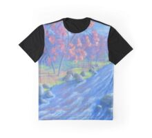Autumn River Graphic T-Shirt
