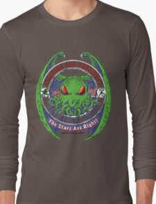 THE STARS ARE RIGHT - ELDER PARTY Cthulhu 2016 T-Shirt Long Sleeve T-Shirt