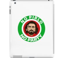 No Pirlo, No Party (Italy) iPad Case/Skin