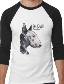Bull Terrier Men's Baseball ¾ T-Shirt