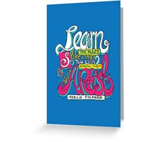 Learn the rules like a pro... Greeting Card