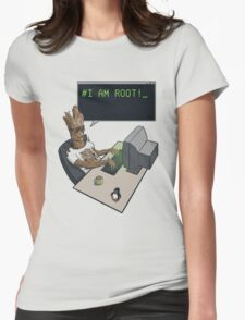 I am Root Womens Fitted T-Shirt