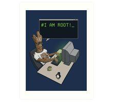 I am Root Art Print