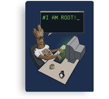 I am Root Canvas Print