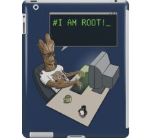 I am Root iPad Case/Skin