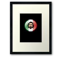 No Pirlo, No Party Framed Print