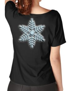 ICE, SNOWFLAKE, Cool, Snow, Snow crystals, Winter, Cold, Ice Crystal, Frozen, Freeze Women's Relaxed Fit T-Shirt