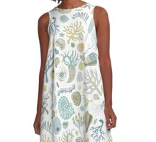 Natural Forms A-Line Dress
