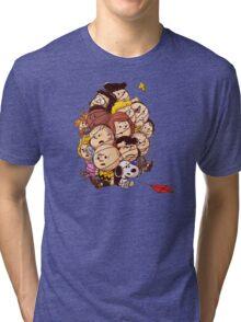 bond in kyte snoopy peanut Tri-blend T-Shirt
