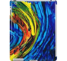 Colorful Abstract Art - Energy Flow 2 - By Sharon Cummings iPad Case/Skin
