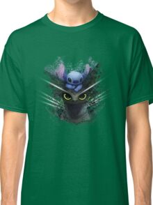 Baby Toothless Dragon and Stitch Classic T-Shirt