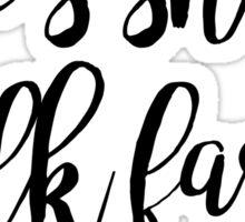 Gilmore Girls - Life's Short Sticker