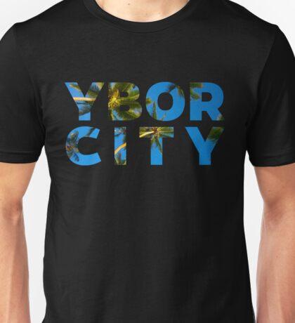 Ybor Palms in Letter Unisex T-Shirt