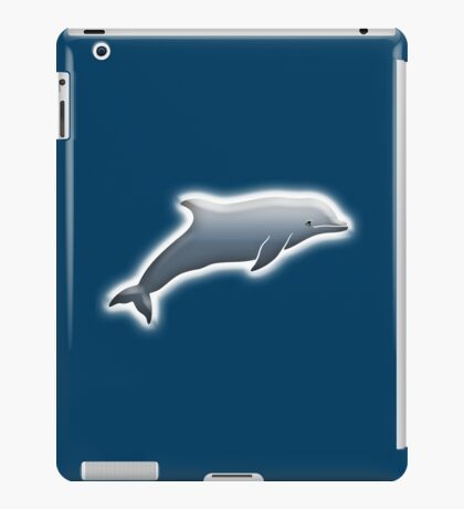 Dolphin, Cetacean, Mammal, closely related to Whales and Porpoises. iPad Case/Skin