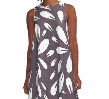 blossom (plum) A-Line Dress