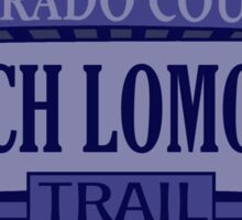 Loch Lomond Colorado offroad Jeep trail Sticker