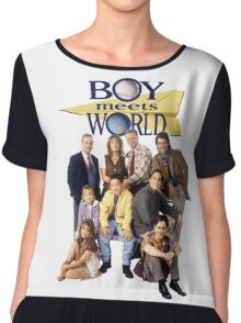 Boy Meets World Cast Chiffon Top