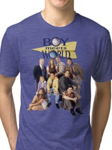 Boy Meets World Cast Tri-blend T-Shirt