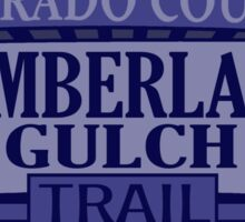 Cumberland Gulch Colorado offroad Jeep trail Sticker