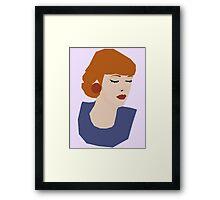Robyn // Candy Vintage Framed Print