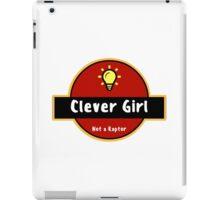 Clever Girl - Bulb iPad Case/Skin
