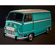 Renault Estafette Painting Photographic Print