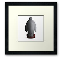 Baymax Is Coming Framed Print