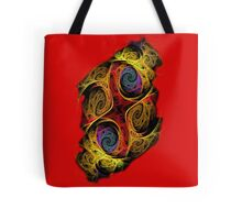 Double Or Too Many - Red Tote Bag