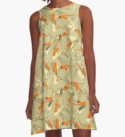 Miles & 'Trane A-Line Dress