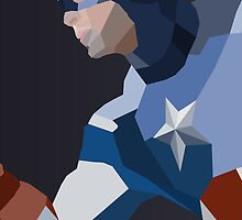 Captain America by erinddesigns