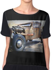 Hot Rod Chiffon Top